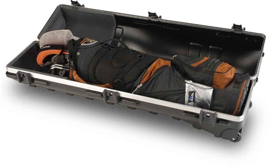 Transportní boxy na golfové bagy