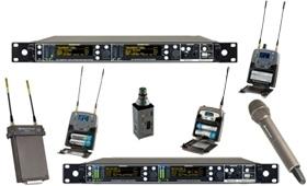 Bezdrátové mikrofonní systémy