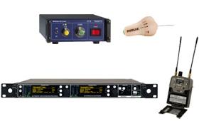 In-ear a interkomové systémy