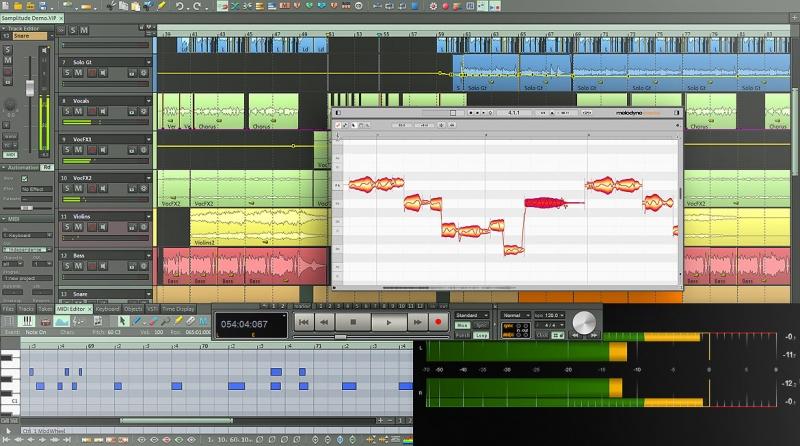 MAGIX Samplitude - DAW pro nahrávací a editační studia