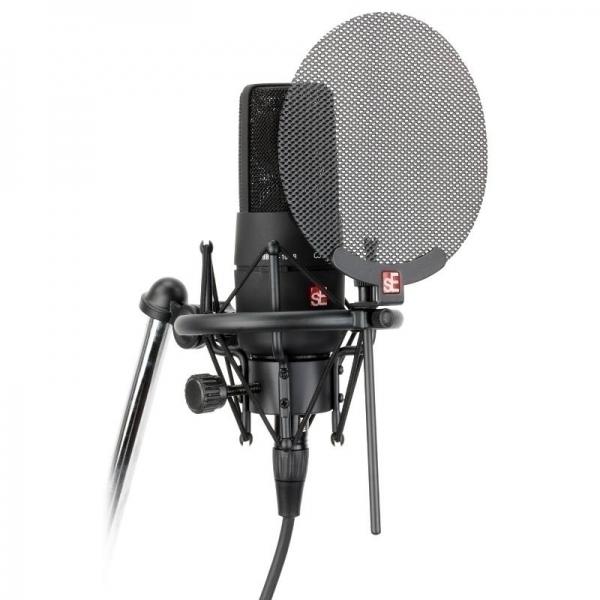 Studiové kondenzátorové mikrofony