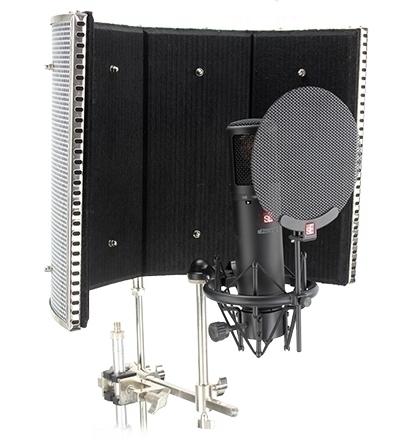Paravánky Reflexion Filter a příslušenství mikrofonů