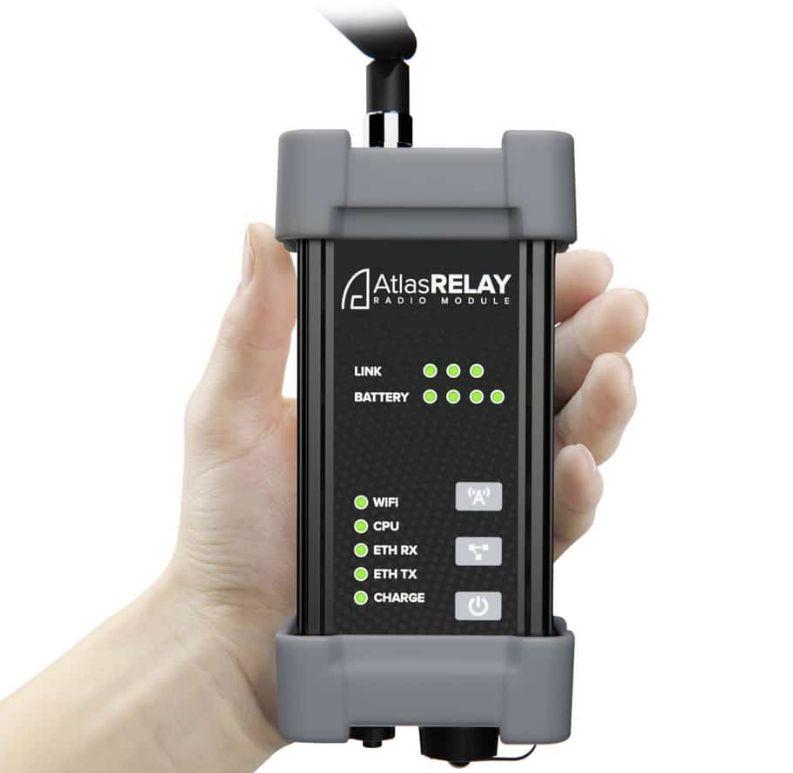 AtlasRELAY – přenosný rádiový modul
