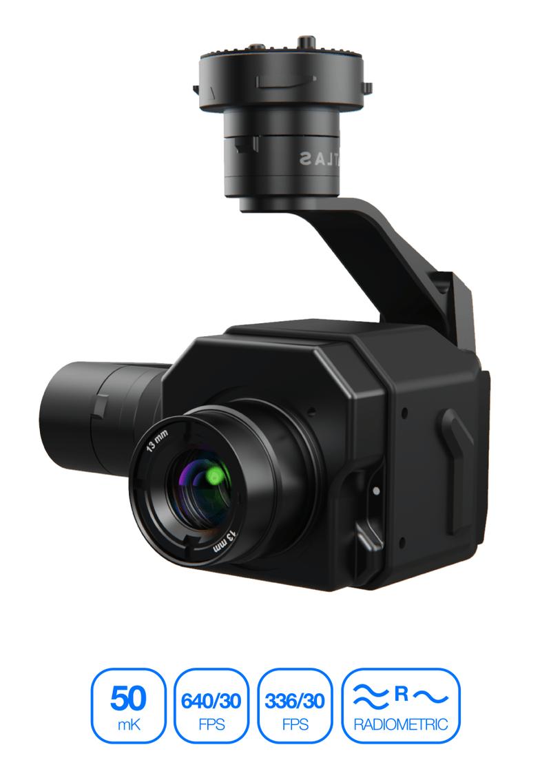 Termokamera s vysokou přesností měření