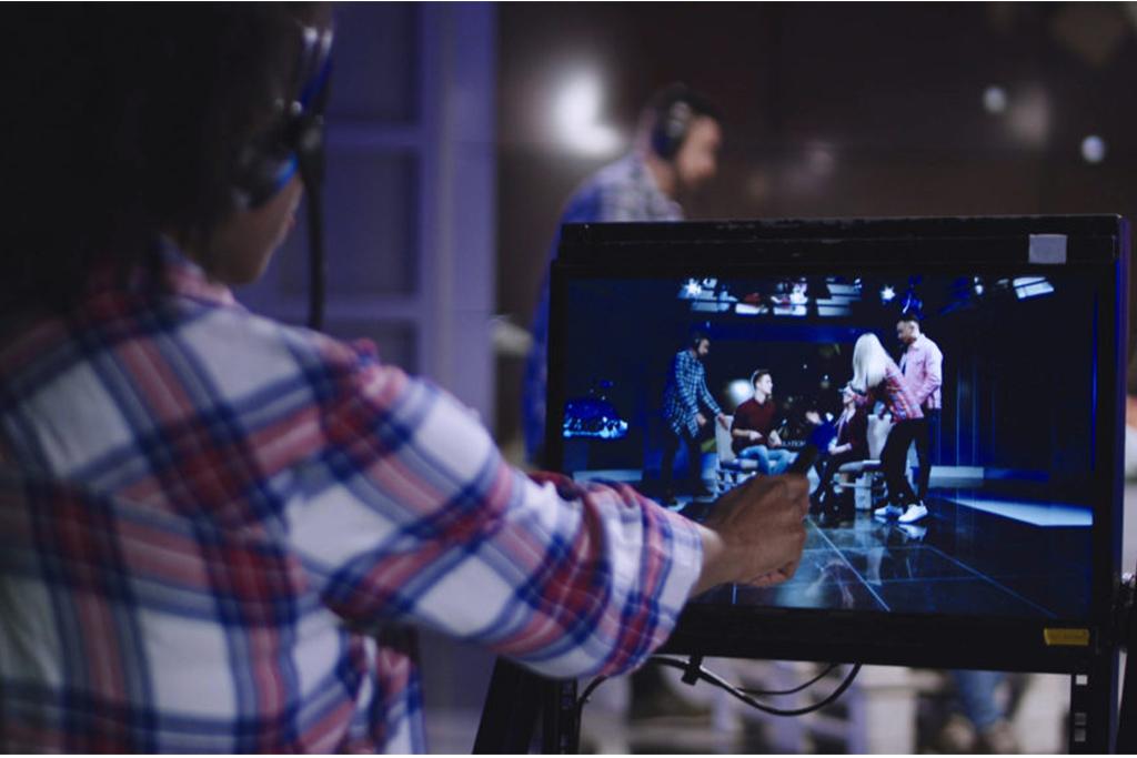 Broadcasting – rozhlasové a televizní vysílání