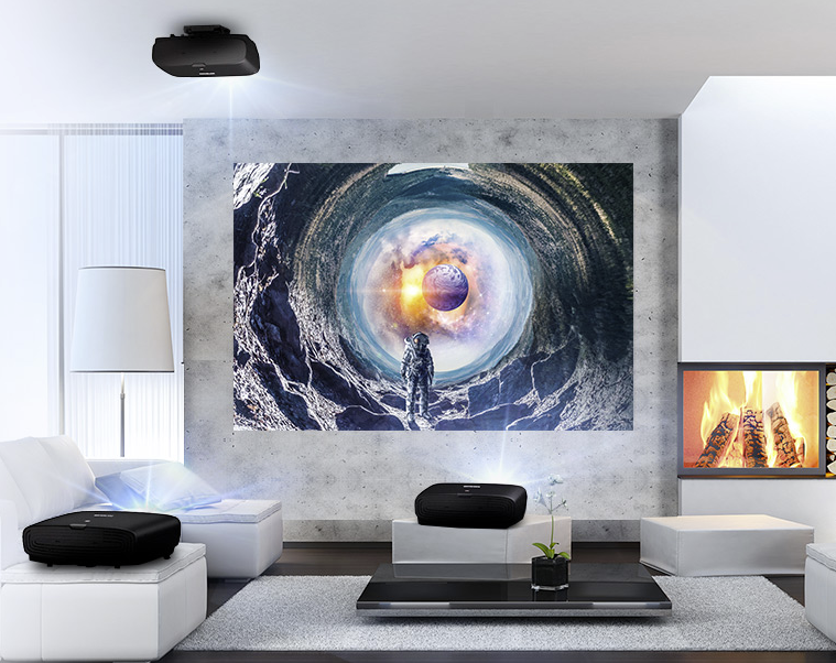 Projektory pro domácí využití