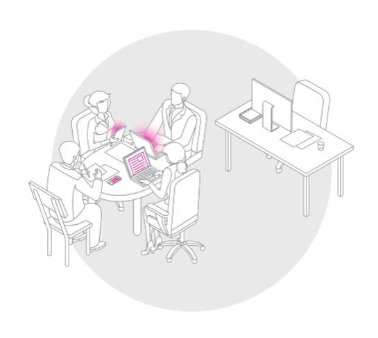 Přímo v kanceláři – u vašeho stolu