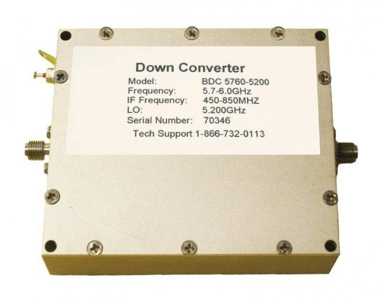 UHF-BDC konvertor