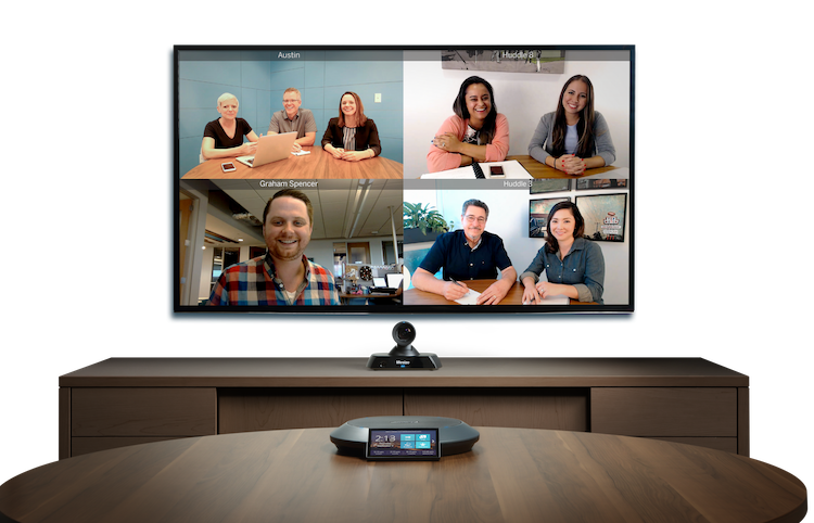 Nenáročný videokonferenční systém pro menší zasedací místnosti