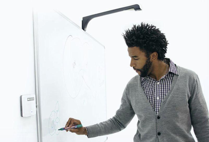 Proměňte svou běžně používanou tabuli – whiteboard – na nástroj pro vzdálenou týmovou (spolu)práci.