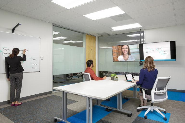 Kaptivo – propojení s videokonferencí Lifesize