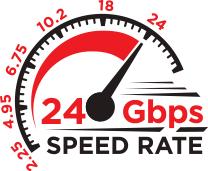 Vysokorychlostní výkon a špičková technologie