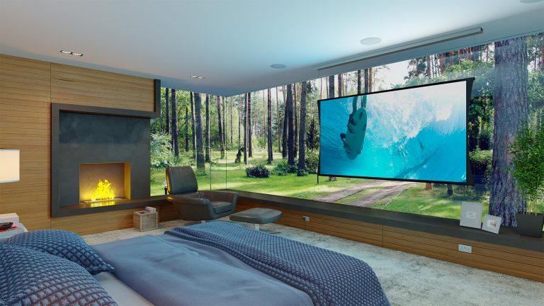 Klasická obrazová projekce v libovolné místnosti či prostředí. Opravdu?