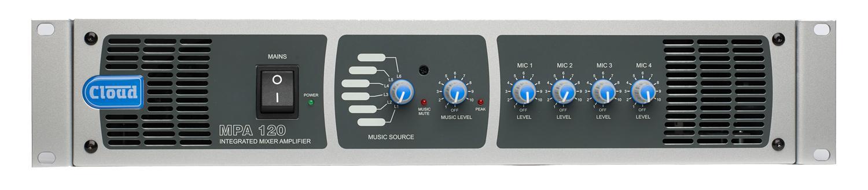 MPA120 120W Integrovaný mix/zesilovač - MPA240 240W Integrovaný mix/zesilovač