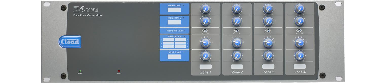 Z4MK4 čtyř-zónový mixér