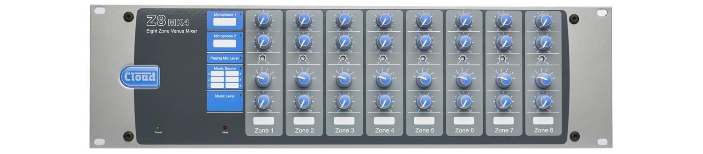 Z8MK4 osmi-zónový mixér