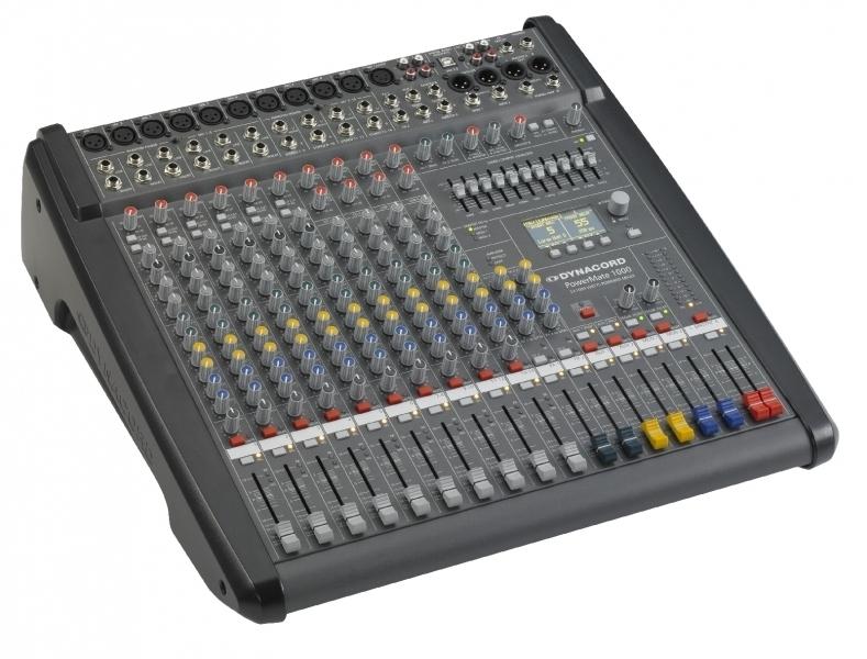Mixážní pulty a powermixy