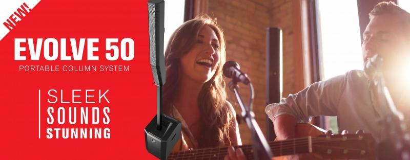 Ocenění pro ozvučovací systém EVOLVE 50 společnosti Electro-Voice
