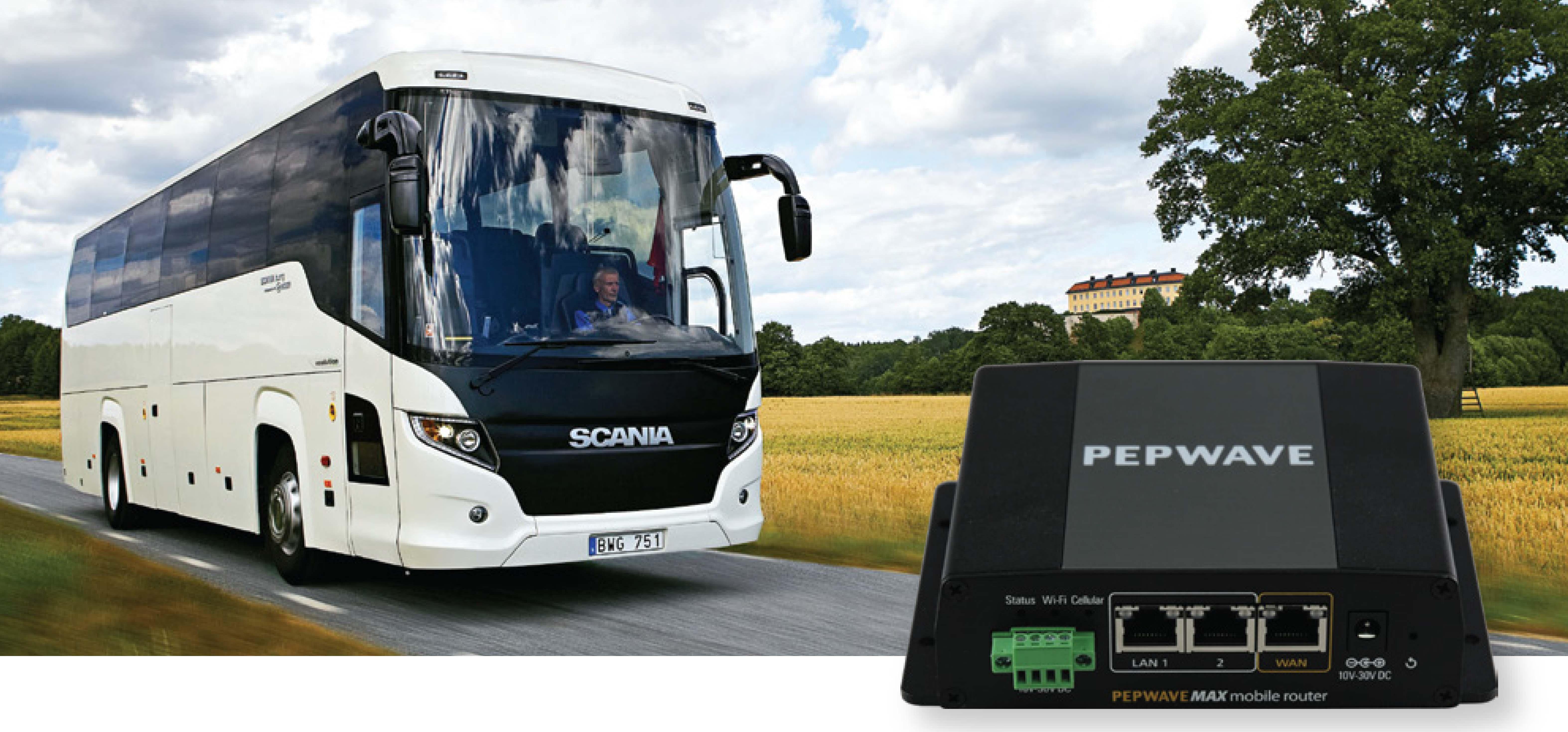 Průmyslový, mobilní 4G LTE/3G router