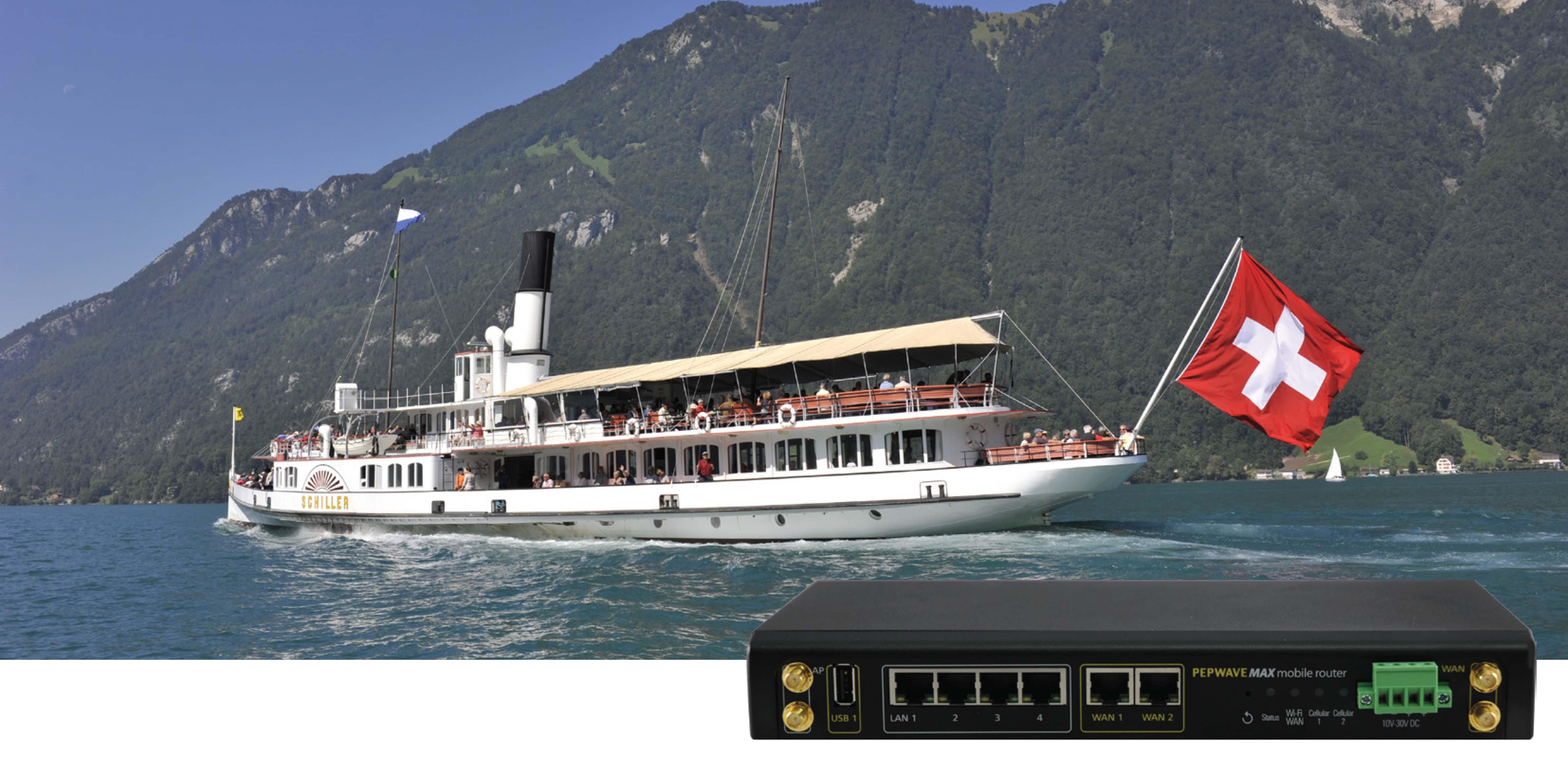 Mobilní 4G LTE router se dvěma modemy