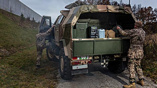 Armáda – ozbrojené složky